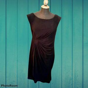 ⭐Reitmans faux wrap dress sz m